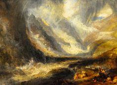 Joseph Mallord William Turner - Valley of Aosta: Snowstorm…   Flickr