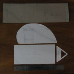 "10"" Teardrop trailer templates created by Little Stuff for club project"