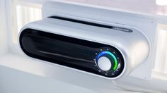Noria Window Air Conditioner is a very cool, compact and lightweight design