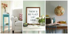 Give any room a fresh look with these simple decor crafts.