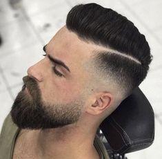 Beard and fade