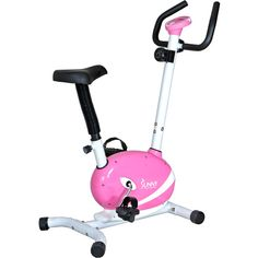 Sunny Health & Fitness Pink Magnetic Upright Bike: Exercise & Fitness : Walmart.com
