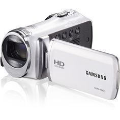 Samsung HD, Optical Zoom Flash Memory Digital Camcorder Ready for a true closeup? Then you'll need the long-zoom power of this Samsung camcorder. Camcorder, Nikon, Hd Samsung, Samsung Camera, Sony, Zoom Hd, Videos, Flash Memory, Black