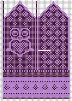 Knitting Patterns Mittens Little sister would want in pink and purple. Most of the time she wants to have pink and purple. Knitted Mittens Pattern, Crochet Gloves, Knit Mittens, Knitting Socks, Knitting Charts, Knitting Stitches, Knitting Patterns, Crochet Chart, Knit Or Crochet