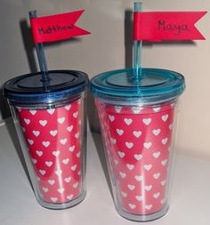 Lovely DIY Valentine's Gift.  Includes a Free Printable.