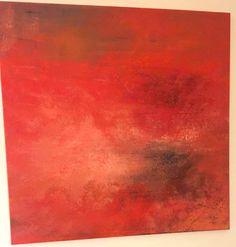 Fire Acrylic on canvas 80cm x 80cm