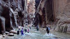 Hiking in Zion NP, Utah: Angels Landing & Virgin Narrows in 4K (Ultra HD)