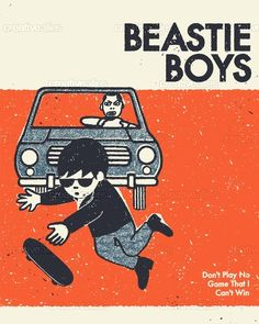 By mattbarnes for the poster design contest for the Beastie Boys