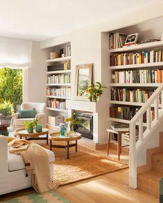 Librerías a medida para toda la casa