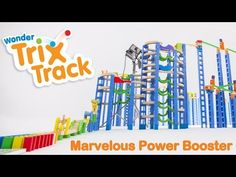 Trix Track * BIG Combo - Marvelous Power Booster  Without any electricity, only Gravity. This Combination set is constructed from Wonderworld's Trix Track collection (http://www.wonderworldtoy.com/product...) Trix Track has just won a good-design award from Japan after many awards in international level (Best toy - Oppenheim, Independent toy award, Top toy of the year etc.) #trixtrack #wonderworldtoy