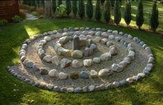 Unusual mozaic fusion style garden design ideas modern 300x195 A labyrinth garden landscaping challenge
