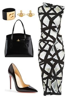 Helia's style theory by heliaamado on Polyvore featuring Vivienne Westwood Anglomania, Christian Louboutin, Vivienne Westwood and Salvatore Ferragamo