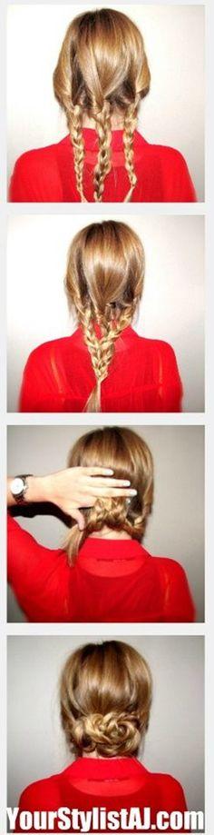 #hairtutorial hair tutorial updo