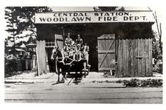 Central Station, Woodlawn, Alabama. Back when it was a city of its own.