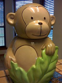 Monkey Cookie Jar