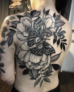 FLOWER TATTOO FLOWER TATTOO,Tattoos In our lifestyle, black and white flower tattoo become so popular as a unique way to highlight body part by inking them with attractive flower designs. Black And White Flower Tattoo, White Flower Tattoos, Black Tattoos, Full Back Tattoos, Full Sleeve Tattoos, Back Tattoo Women Full, Music Tattoos, Body Art Tattoos, Tattoos Pics
