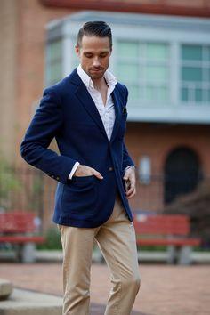 Brooks Brothers Patch Pocket Blazer - He Spoke Style