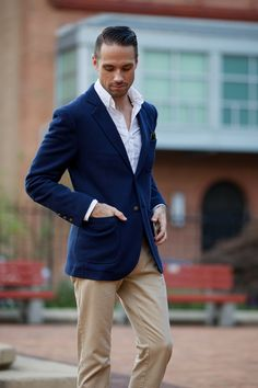 Brooks Brothers Patch Pocket Blazer - He Spoke Style
