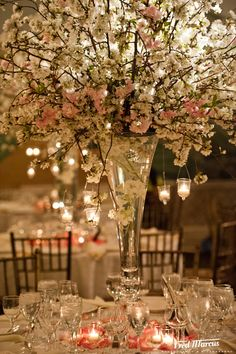 65 best cherry blossoms wedding flowers images cherry blossom rh pinterest com White Cherry Blossom Centerpieces Pink Cherry Blossom Wedding Centerpieces