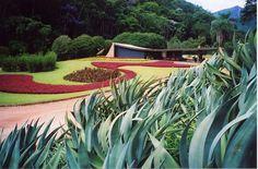 Casa Edmundo Cavanelas, Pedro do Rio - RJ, Brasil - Roberto Burle Marx