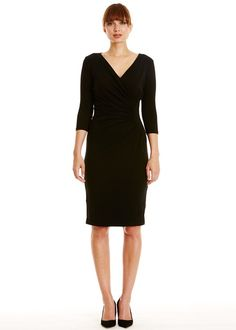 People Tree | Stella Fitted Dress in Black