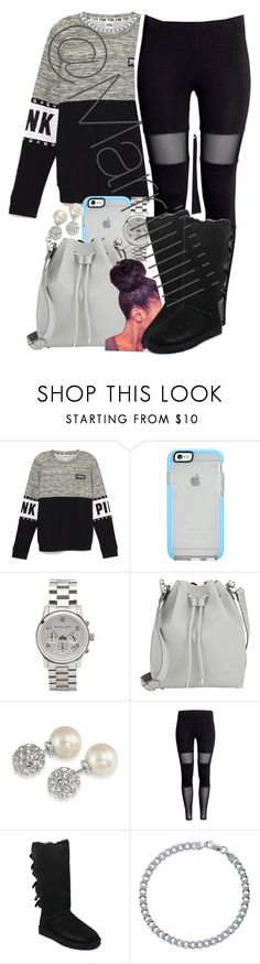 """4 days till Christmas "" by trill-forlife ❤ liked on Polyvore featuring Michael Kors, Proenza Schouler, Carolee, UGG Australia and BERRICLE"