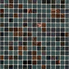 Elida Ceramica Zodiac Glass Mosaic Square Indoor/Outdoor Wall Tile (Common: 13-in x 13-in; Actual: 12.75-in x 12.75-in)