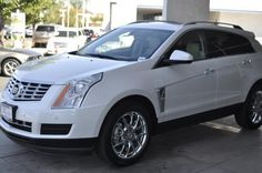 2014 Cadillac SRX LuxuryCollection Luxury Collection 4dr SUV SUV 4 Doors White for sale in Temecula, CA Source: http://www.usedcarsgroup.com/used-cadillac-for-sale-in-temecula-ca
