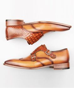 Monk Strap Shoes #menswear