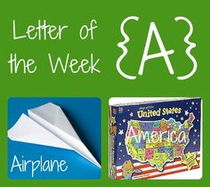Preschool themes: Letter of the Week {A}