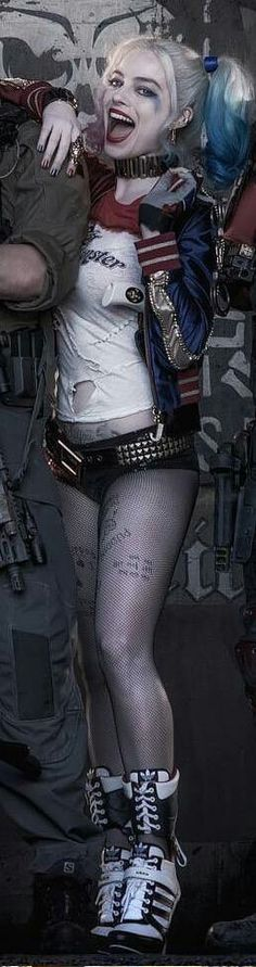 Margot Robbie as Harley Quinn in Suicide Squad ❤