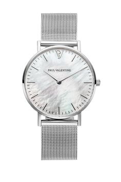 Silver Seashell Mesh 36mm – Paul Valentine US
