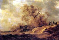 Jan van Goyen  - Paysage dunaire