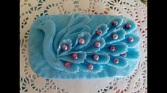Diy Soap Carving, Creative Food, Fondant, Diy And Crafts, Easy Diy, Candles, Simple, Pretty, Peacocks