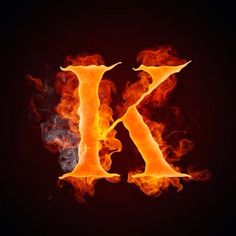 """Buy the royalty-free Stock image """"Fire Letter K Isolated on Black Background Computer Design"""" online ✓ All image rights included ✓ High resolution pictu. Black Background Images, Black Backgrounds, Alphabet Letters Design, Ice Art, K Wallpaper, Autumn Lights, Letter K, Backrounds, Fire And Ice"""
