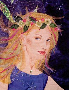 Bonnie McCaffery, author of Portrait Quilts and Fantasy Fabrics,