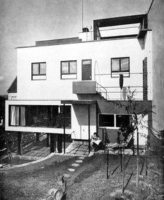 Architect's own villa, Jiří Kroha, Brno, Czechoslovakia 1930