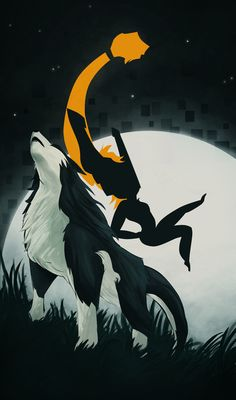 The Princess and the Wolf by tetra-007.deviantart