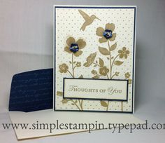 Wildflower Meadow Stamp Set, Loving Thoughts Stampin' Up!