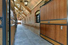 beautiful barn aisle