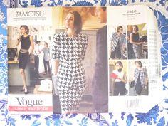 Vogue Pattern  2920   -   TAMOTSU   -      Size:  12-14-16    -    Uncut