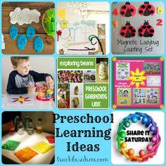 Preschool Learning Ideas