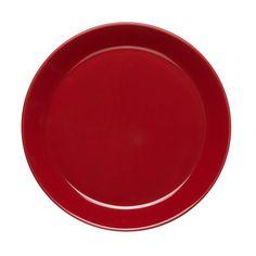 Höganäs keramikk, asjett 20 cm Small Plates, Yummy Appetizers, Dinner Table, Bold Colors, Matcha, Porcelain, Shapes, Canning, Tableware