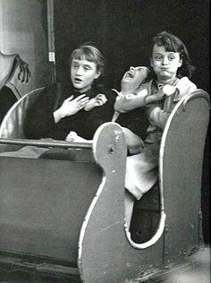 Le train fantôme (The Ghost Train), 1953 - Robert Doisneau