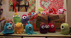 Monster families for little hands. Blog date Nov. 15th, 2011