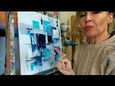TUTO ABSTRAIT FACILE: COMMENT UTILISER UN PEIGNE A EFFETS - YouTube Painting Videos, Painting Tutorials, Abstract Canvas, Painting Abstract, Acrylic Art, Art Techniques, Queen Art, Red Queen, Modern Paintings