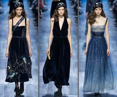 Dior lovely dresses for Fall 2017! #PFW
