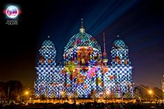 The Berlin Festival of lights is one of the biggest illumination events in the entire world. Description from blog.eastseven.de. I searched for this on bing.com/images
