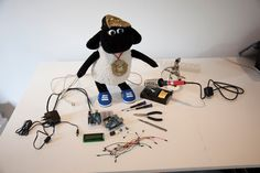 Hacking & Maker tutorial: Hack a toy for your first Arduino project by Digital Arts  Rob Millington and Stuart Dearnaley | The Neighbourhood