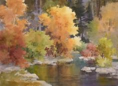 Paint Along 42 LIVE | Color Variety for Landscape Painting